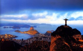 Dusk-City-Statue-of-Jesus-Rio-de-Janeiro-Brazil